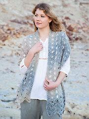 ANNIE'S SIGNATURE DESIGNS: Skagerrak Stole Knit Pattern