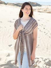 ANNIE'S SIGNATURE DESIGNS: Ventana Vest Knit Pattern