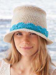 ANNIE'S SIGNATURE DESIGNS: Novo Fedora Hat Crochet Pattern