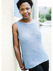 Rialto Ribbed Top Crochet Pattern - Electronic Download RAC1802