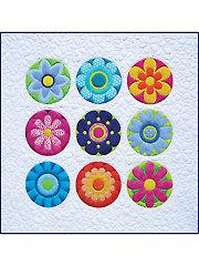 Radiant Blooms Quilt Pattern