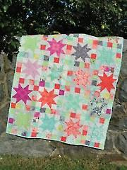Sara's Star Quilt Pattern