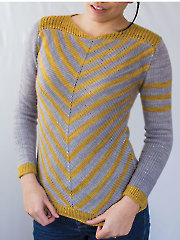Aumangea Pullover Knit Pattern - Electronic Download RAK0920