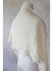 Puaka Shawlette Knit Pattern