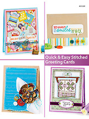 Quick & Easy Stitched Greeting Cards