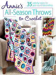 Annie's All-Season Throws to Crochet