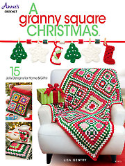 A Granny Square Christmas Crochet - Electronic Download