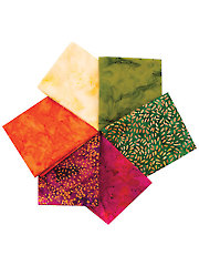 Batik Fat Quarters Mystery Assortment - 6/pkg.