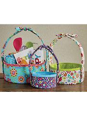 Basket Pop-Up Sewing Pattern