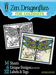 Zen Dragonflies for Colorists
