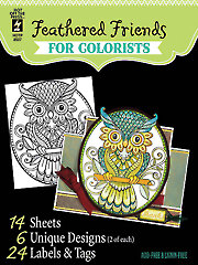 Feathered Friends for Colorists