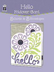 Hello Foldover Card