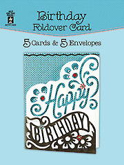 Birthday Foldover Card