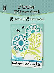 Flower Foldover Card