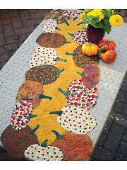 Pumpkins All Around Table Runner Pattern
