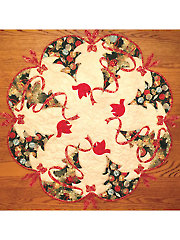 Ribbons All Around Table Topper Pattern