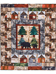 Bear Creek Cabins Quilt Pattern