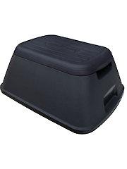 Black Safe-T-Stool