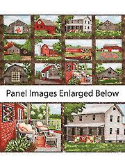 """Quilt Trails Landscape Panel - 42"""" x 24"""""""