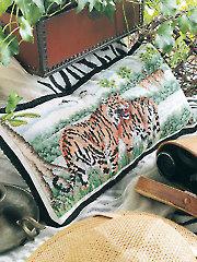 Tiger Territory Cross Stitch Pattern