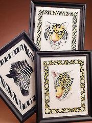 Jungle Prints Cross Stitch Pattern