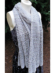 Reserved Seating Wrap Crochet Pattern