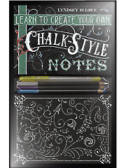 Learn to Make Your Own Chalk-Style Notes