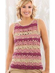 ANNIE'S SIGNATURE DESIGNS: Wisteria Tee Crochet Pattern