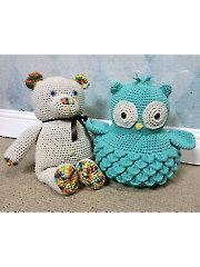 Cotton Bear & Ollie Owl