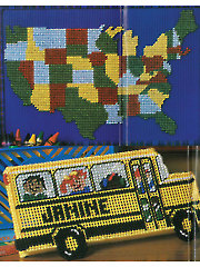USA Map & Pencil Box - Electronic Download