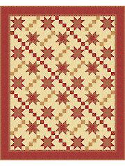 Plaid Stars Quilt Pattern