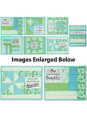 Uplifting Mug Mats Patterns & Panel