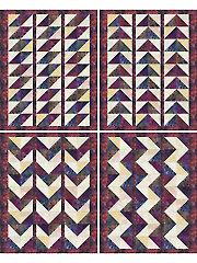 Batiks at their Best Quilt Pattern