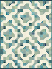 Pleasing Patchwork Quilt Pattern