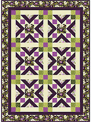 Ribbon Cascade Quilt Pattern