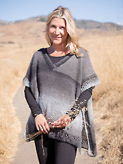 Moonstone Poncho Knit Pattern 886182
