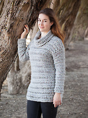 ANNIE'S SIGNATURE DESIGNS: Betula Sweater Crochet Sweater 886094