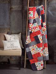 Exclusively Annie's Watercolor Garden Quilt Pattern