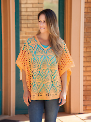 Party Pineapple Poncho Crochet Pattern
