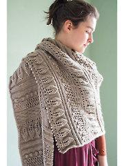 Greenwood Shawl Knit Pattern - Electronic Download