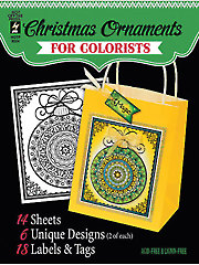 Christmas Ornaments for Colorists