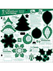Christmas Iris Folding