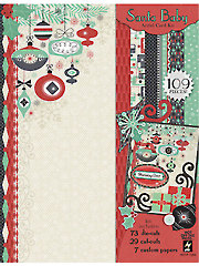 Santa Baby Artful Card Kit