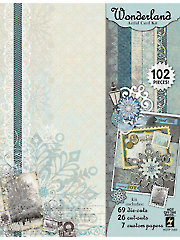 Wonderland Artful Card Kit
