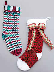 Christmas Stockings - Electronic Download