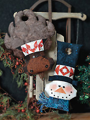 Northwoods Door Knob Greeters Embellishment Set