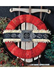 Ho Ho Ho Wreath Embellishment Set