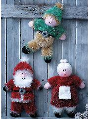 9029: Christmas Toys Knit Pattern