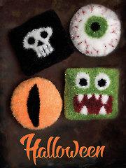 9054: Halloween Cushions Knit Pattern