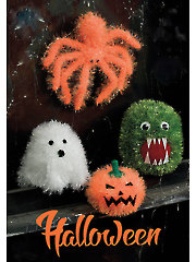 9052: Halloween Monsters Knit Pattern